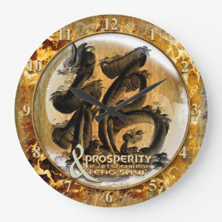 THE PROSPERITY CONNEXION : Art of Chinese Fengshui Large Clock