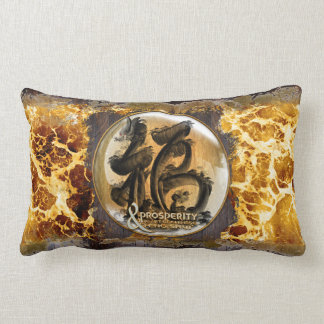 THE PROSPERITY CONNEXION : Art of Chinese Fengshui Lumbar Cushion