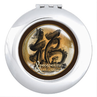 THE PROSPERITY CONNEXION : Art of Chinese Fengshui Makeup Mirrors