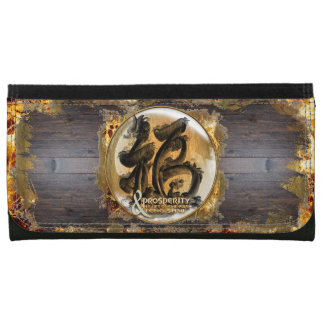 THE PROSPERITY CONNEXION : Art of Fengshui Leather Wallet For Women