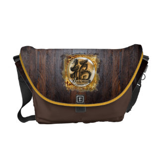 THE PROSPERITY CONNEXION : Art of Fengshui Messenger Bags