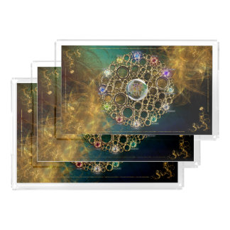 THE PROSPERITY CONNEXION : Gems of Fortune Acrylic Tray