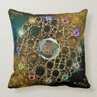 THE PROSPERITY CONNEXION : Gems of Fortune Cushion