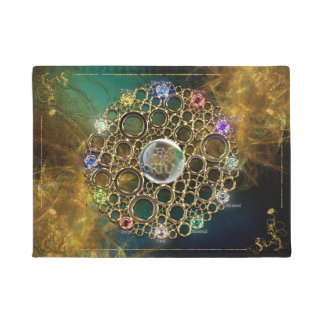THE PROSPERITY CONNEXION : Gems of Fortune Doormat
