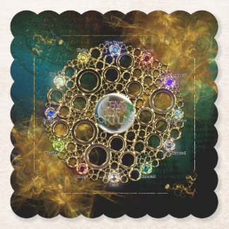 THE PROSPERITY CONNEXION : Gems of Fortune Paper Coaster