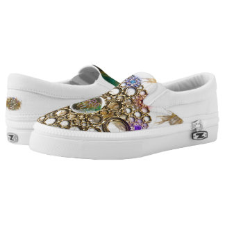 THE PROSPERITY CONNEXION : Gems of Fortune Slip-On Shoes
