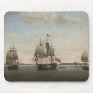 The Protector Ship Mouse Pad