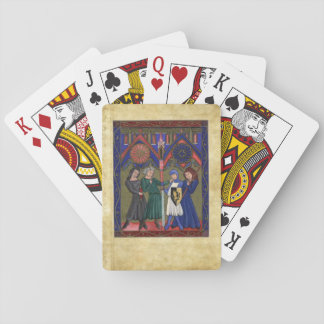 The Psalter of St Louis Playing Cards
