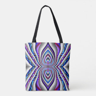 The Psychedelic spider... Tote Bag