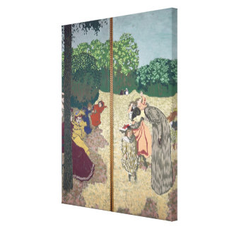 The Public Gardens Gallery Wrapped Canvas