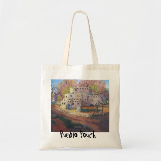 The Pueblo Pouch- small tote Tote Bag