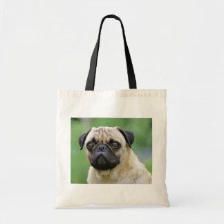 The Pug Dog Budget Tote Bag