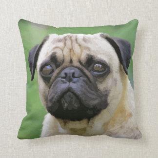 The Pug Dog Pillow