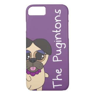 The Pugintons: Barb - iPhone case