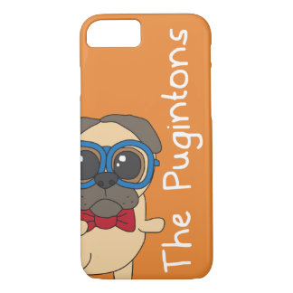 The Pugintons: Percy - iPhone case