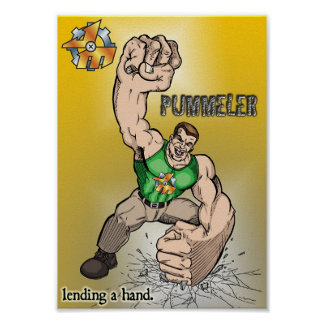 The Pummeler Posters