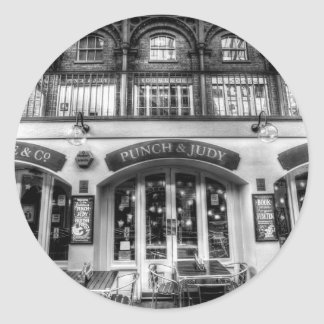 The Punch And Judy Pub Covent Garden Classic Round Sticker