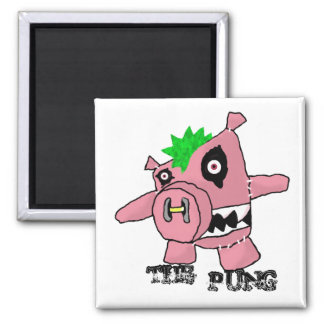 The Pung Square Magnet