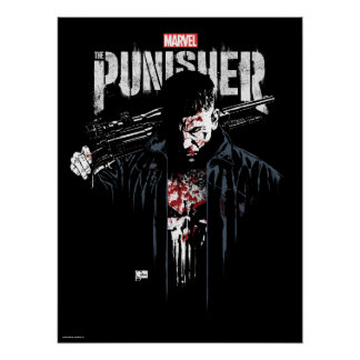 The Punisher | Jon Quesada Cover Art Poster