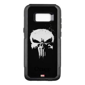 The Punisher | Painted Skull Logo OtterBox Commuter Samsung Galaxy S8+ Case