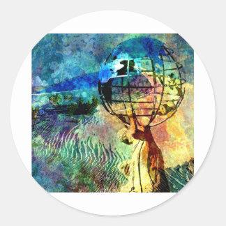 THE PUNISHMENT OF ATLAS.jpg Classic Round Sticker