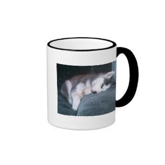 The Puppy Sleeps Mug