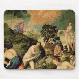 The Purification of the Midianite Virgins Mouse Pad