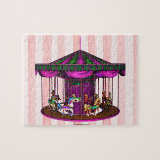 The Purple Carousel Jigsaw Puzzle