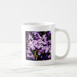 The Purple Flower Patch Coffee Mug