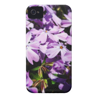 The Purple Flower Patch iPhone 4 Case