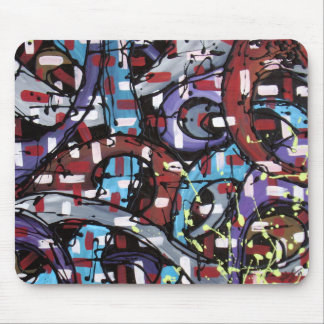 The Purple Highway Mouse Pad