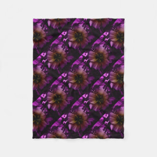 The Purps Fleece Blanket