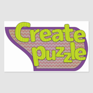 The puzzle probably will be made! rectangular sticker
