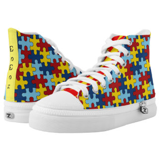 The puzzlers high tops