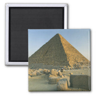 The Pyramids of Giza, which are alomost 5000 2 Square Magnet