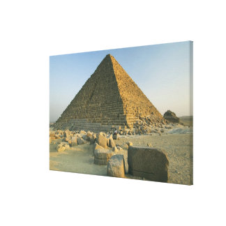 The Pyramids of Giza, which are alomost 5000 2 Stretched Canvas Prints