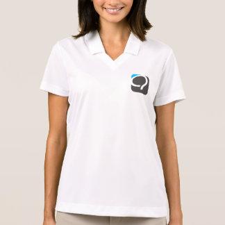 The Q Half-Zip for Women - Quaero Blue Polo Shirt