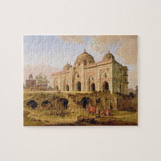 The Qal' A-l-Kuhna Masjid, Purana Qila, Delhi, c.1 Jigsaw Puzzle