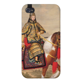 The Qianlong Emperor in Ceremonial Armour iPhone 4/4S Covers