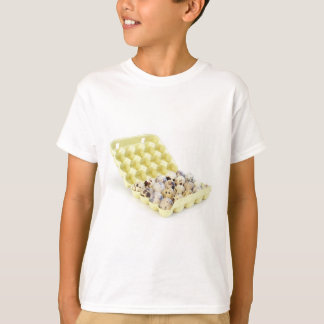 The quail eggs in paper container T-Shirt