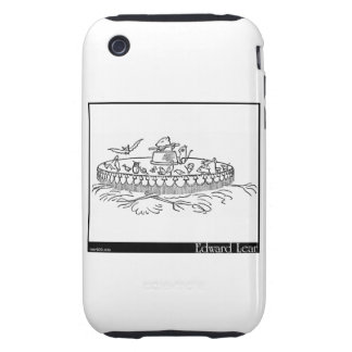 The Quangle Wangle's Hat iPhone 3 Tough Covers