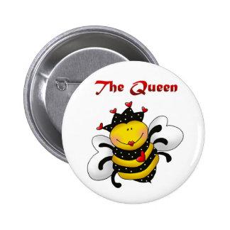 "The ""Queen"" Bee Button"