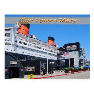The Queen Mary Postcard