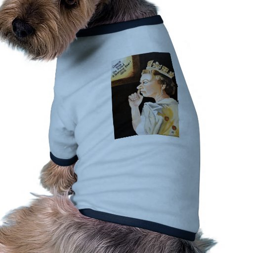 The Queen 'nose' she picked a diamond year. Dog Shirt