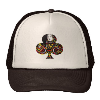 The Queen of Clubs Mesh Hat