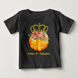 The Queen of Halloween Pumpkin T-Shirt