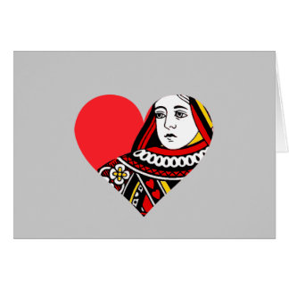 The Queen of Hearts Greeting Cards