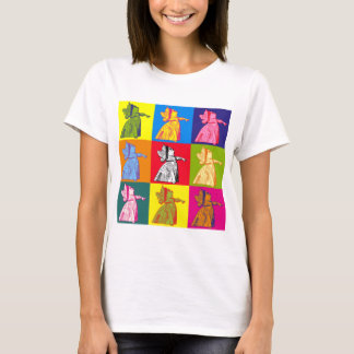 The Queen of Hearts Pop Art T-Shirt