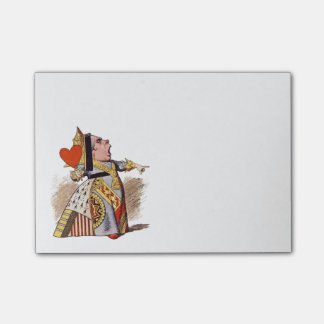 The Queen Of Hearts - Post-it Notes