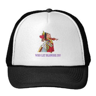 THE QUEEN OF HEARTS SAYS WHO LET BLONDIE IN_PURPLE CAP
